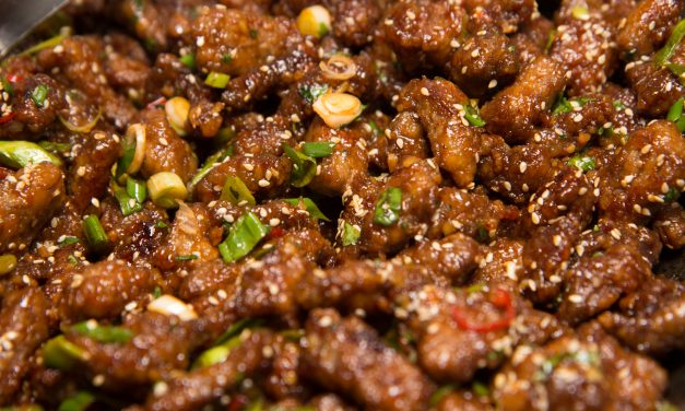 Deepfried Chinese chili beef