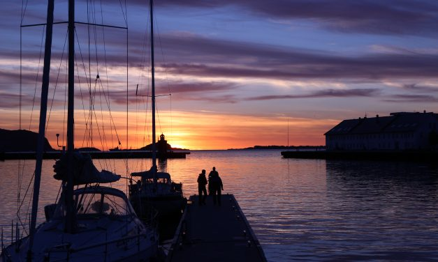 Sunset in Ålesund
