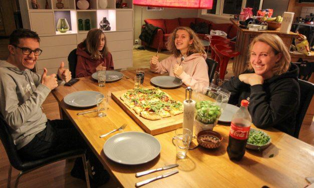 White Pizza a la 'Cinque Minuti'